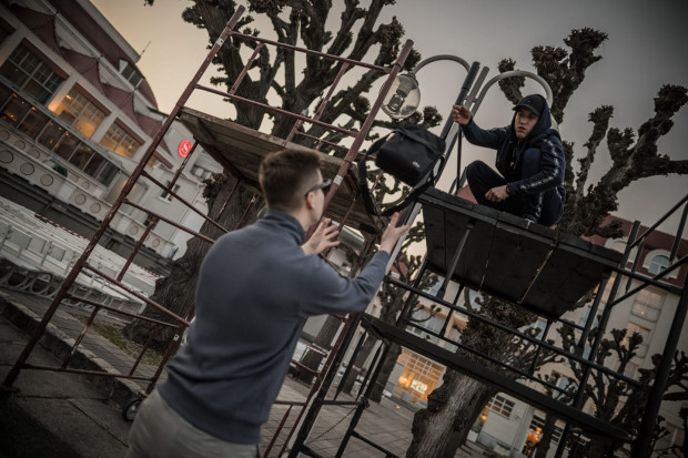 Impreza pilotażowa we Wtedy będzie gościć trzech raperów - Rakosa, Kuchcika oraz Ucina (na zdjęciu ten ostatni).