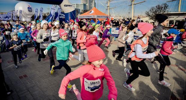 Bieg Urodzinowy w Gdyni zakończy się do południa w niedzielę. Startować będą nie tylko dorośli, ale także tradycyjnie dzieci.