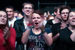 Przez teren festiwalu przewinęło się kilka tysięcy osób.