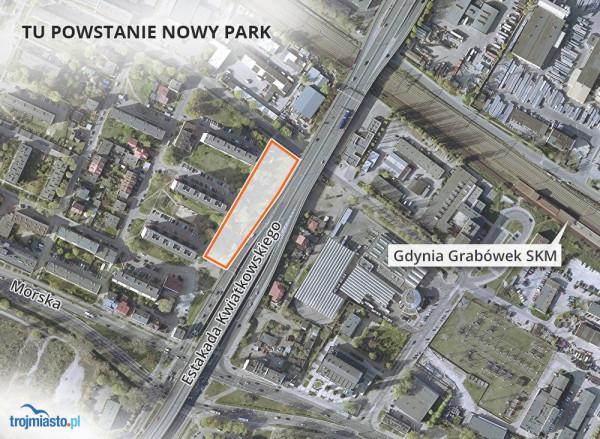 Lokalizacja nowego parku