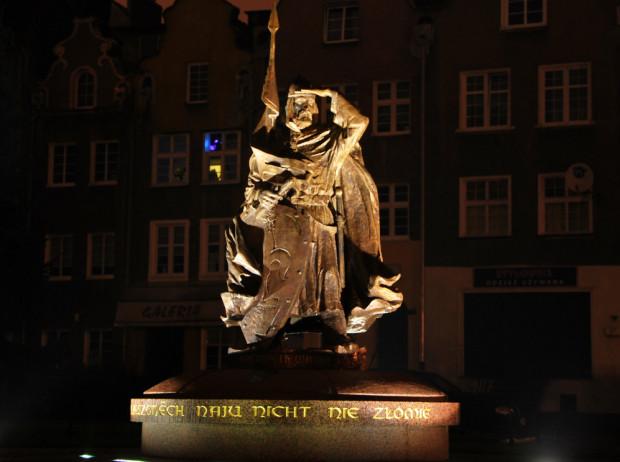 Pomnik Świętopełka II Wielkiego w Gdańsku.