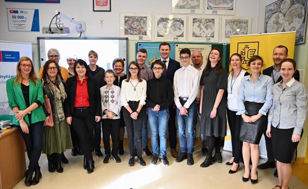Start drugiej edycji projektu Planeta Odzysku ogłoszono we wtorek, 18 lutego, w Szkole Podstawowej nr 85 na Jasieniu.