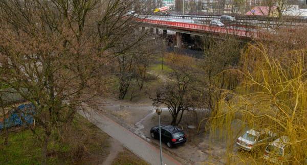 Zieleniec przy ul. Dantyszka w Gdyni zamieni się niebawem w park.