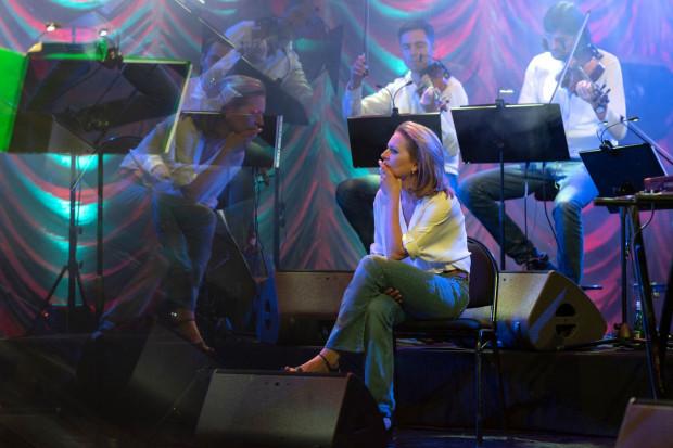 Anna Maria Jopek w Gdynia Arenie wystąpi już 16 marca. Na zdjęciu podczas próby do koncertu.