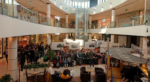 Galeria Klif okazała się idealnym miejscem do przeprowadzenia lekcji o Gdyni.