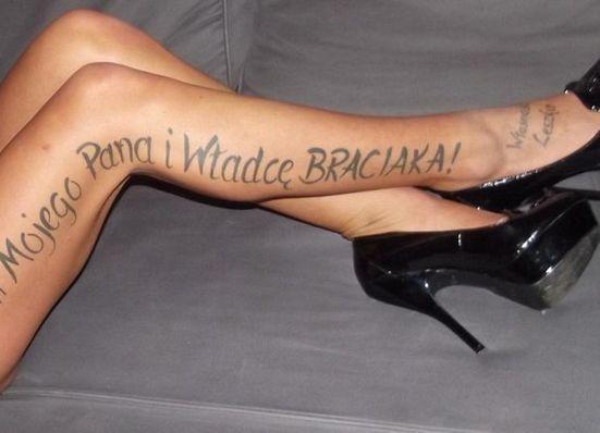 """Tatuaże miały nie tyko być jasną informacją o tym, """"do kogo należy kobieta"""", ale też miały upokarzać prostytutki."""