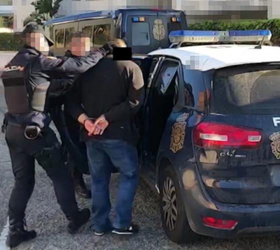 Powtórne zatrzymanie liderów gangu - tym razem w Hiszpanii, w 2019 roku.