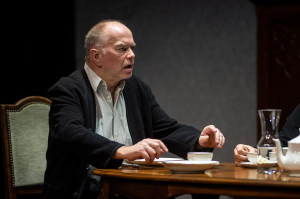 Na scenie najlepsze wrażenie robi Iwan Iljicz Gołowin w wykonaniu Krzysztofa Matuszewskiego, który bardzo dobrze oddaje lęki i obawy bohatera związane ze śmiercią.