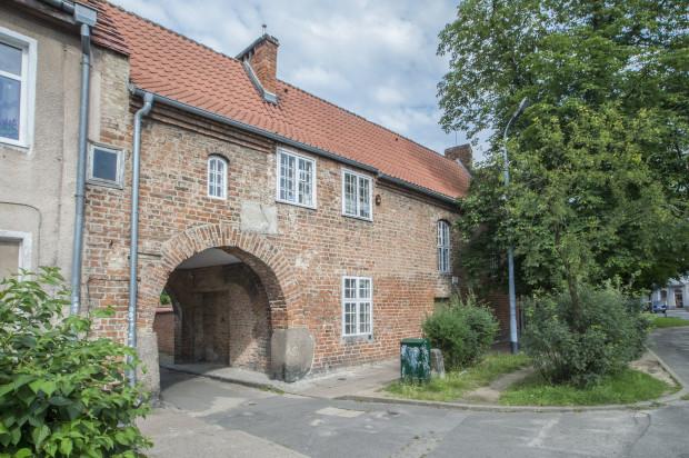 Dom Zarazy w Oliwie - kiedyś mieścił się tu szpital dla chorych na dżumę.