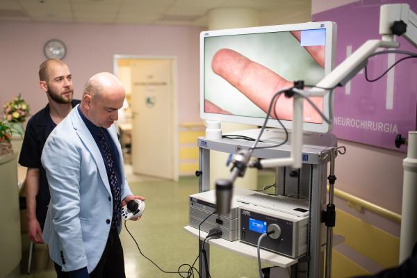 Dr n. med. Wojciech Wasilewski - zastępca kierownika Oddziału, specjalista neurochirurgii i neurotraumatologii.