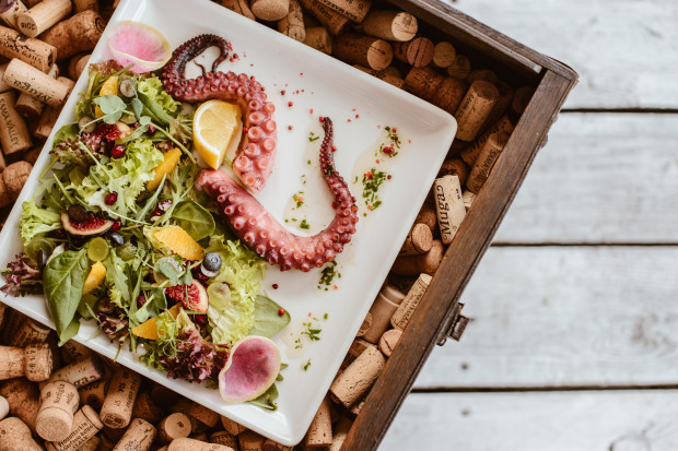 Ośmiornica to jeden z rzadziej serwowanych owoców morza. Na szczęście w Trójmieście znajdziemy ją w kilku restauracjach.