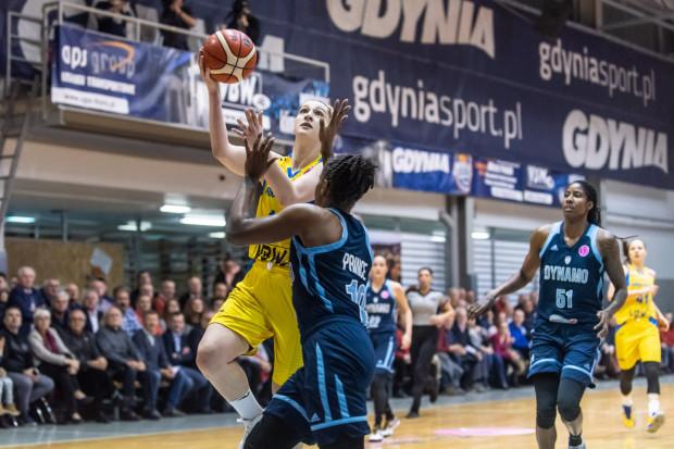 Maryja Papowa była najlepiej punktującą koszykarką Arki Gdynia w ostatnim meczu w Eurolidze w sezonie 2019/20.