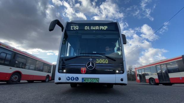 Autobus pozostanie na testach w Gdańsku do końca marca.