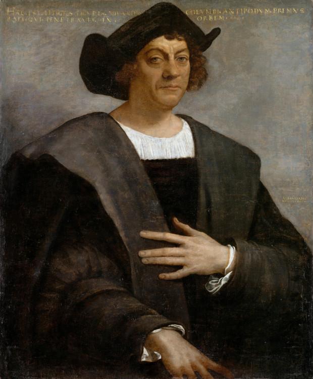Domniemany portret Krzysztofa Kolumba pędzla Sebastiano del Piombo