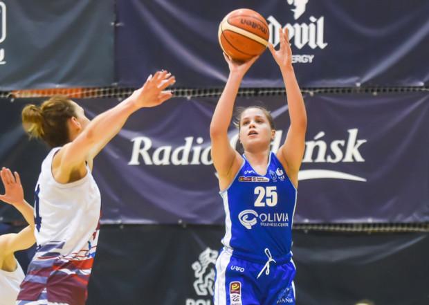 Olga Frolkina była najlepiej punktującą zawodniczką AZS UG w meczu z Eneą AZS Poznań.