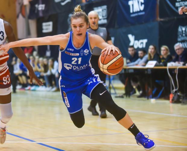 Gabbi Ortiz (na zdjęciu) w Bydgoszczy zdobyła 24 punkty. Na swoim koncie zapisała także 8 asyst i 7 zbiórek, a AZS Uniwersytet Gdański mógł się cieszyć z sensacyjnej wygranej z wiceliderem.
