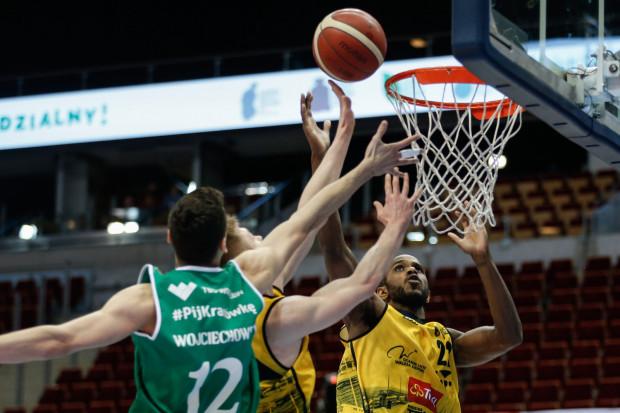 Darious Moten (nr 22) zaliczył udany debiut w barwach Trefla Sopot i pomógł wygrać ze Śląskiem Wrocław.