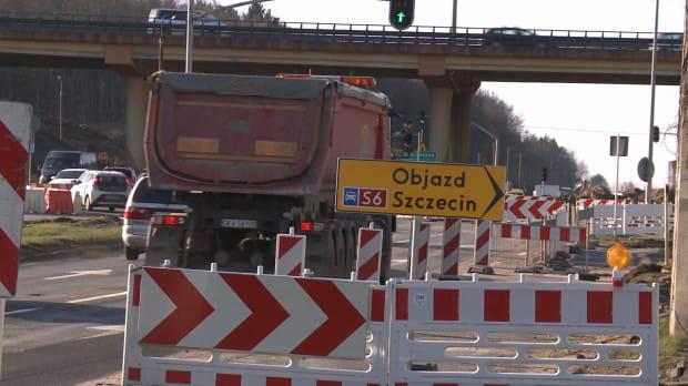 Kierowcy muszą się liczyć z kolejnymi utrudnieniami związanymi z budową Trasy Kaszubskiej.