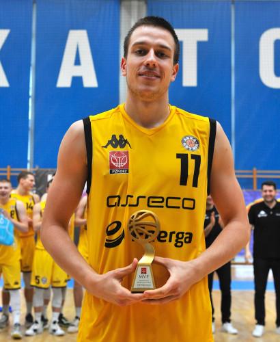 Grzegorz Kamiński z Asseco Arki Gdynia został wybrany MVP turnieju.