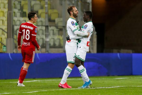 Flavio Paixao i Ze Gomesa strzelili gole, które pokonały Piast Gliwice, a Lechii Gdańsk dały awans do półfinału Pucharu Polski.