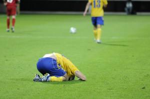 Po raz kolejny Arka nie potrafiła odnieść zwycięstwa w rozgrywkach pierwszej ligi.