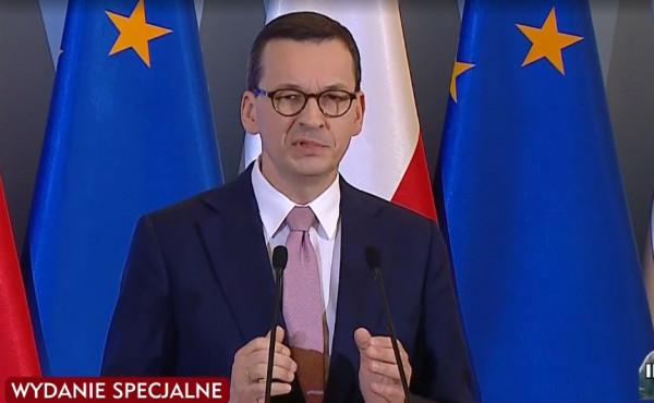 Mateusz Morawiecki zapowiedział wprowadzenie stanu zagrożenia epidemicznego.