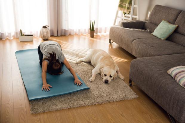 Wystarczy niewielka powierzchnia, aby nawet bez żadnego sprzętu zrobić coś dobrego dla swoich mięśni i kondycji fizycznej.