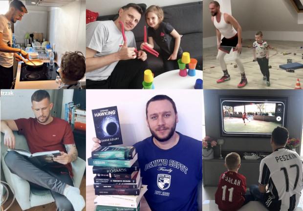 Trójmiejscy sportowcy na skutek koronawirusa spędzają więcej czasu z najbliższymi. Jedni pokazują m.in. że treningi w domowych warunkach można połączyć z zabawą z dziećmi, inni oddają się gotowaniu czy lekturom.