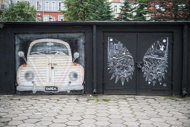 Wrzeszcz Pointz to galeria murali i miejsce spotkań mieszkańców.
