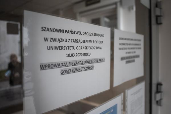Akademik Uniwersytetu Gdańskiego przy ulicy Polanki w Gdańsku.