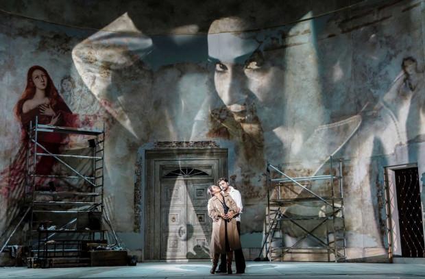 """""""Tosca"""" Giacomo Pucciniego w reżyserii Barbary Wysockiej z Teatru Wielkiego - Opery Narodowej w Warszawie - to jedna pozycji operowych platformy Opera Vision. Można ją oglądać online do 5 czerwca."""