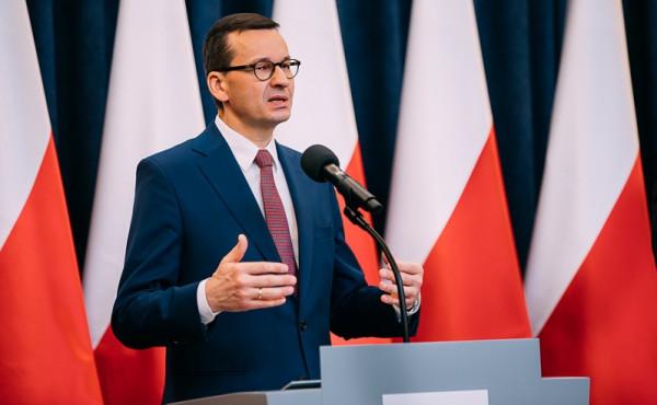 Premier przedstawił założenia do programu, który ma być tarczą antykryzysową dla polskiej gospodarki w związku z koronawirusem.