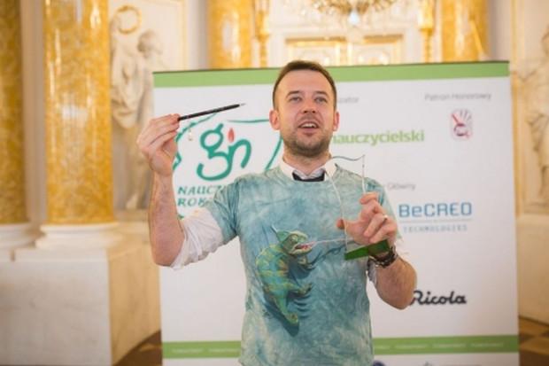 Przemysław Staroń został Nauczycielem Roku 2018.