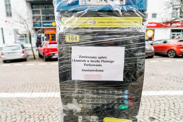 W ramach walki z koronawirusem Gdynia zdecydowała się na zawieszenie strefy płatnego parkowania.