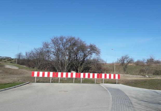 Ul. Węgrzyna urywa się kilkadziesiąt metrów przed Trasą WZ. Mieszkańcy południa Gdańska chcieliby, by miasto wraz z deweloperem wybudowało brakujący odcinek drogi.