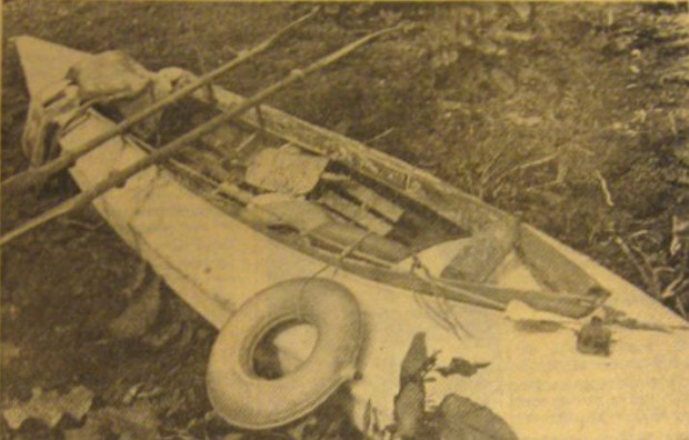 """Bornholmska gazeta """"Bornholmeren"""" regularnie informowała o kolejnych przypadkach ucieczek Polaków przez morze na duńską wyspę."""