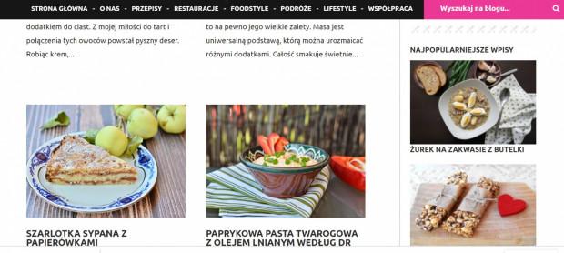 Najedzone.pl to blog założony przez dwie siostry, które równie mocno uwielbiają kulinarne tematy.