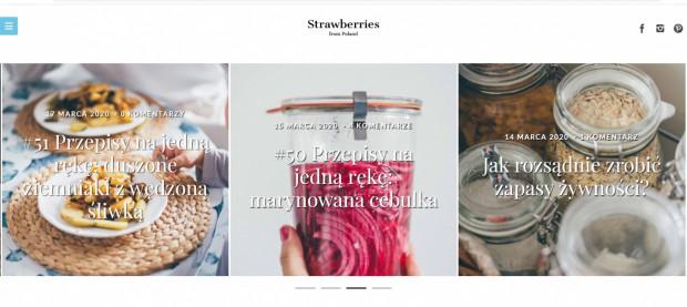 Ania Włodarczyk jest pasjonatką gotowania i fotografii, a obydwie pasje świetnie łączy na swoim blogu.
