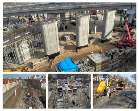 Jak na razie prace przy kluczowych inwestycjach w Gdańsku przebiegają bez zakłóceń.