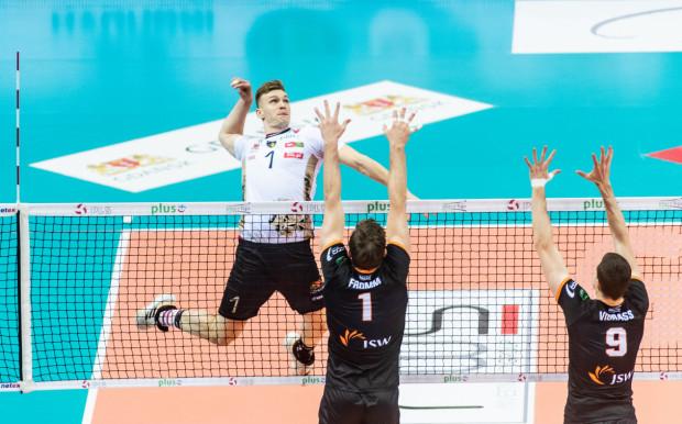 Bartosz Filipiak (atakujący) zdobył 460 punktów w tym sezonie. To najlepszy wynik w tym sezonie PlusLigi.