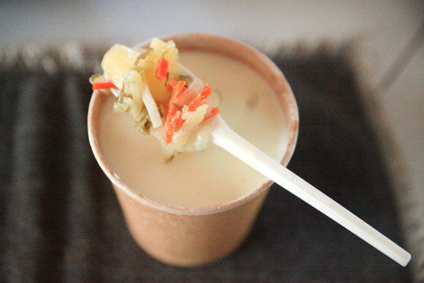 Propozycja od Chochli: zupa ogórkowa mamy Agi.