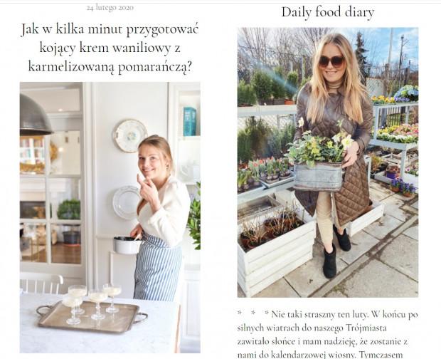 Zosia Cudny prowadzi popularnego bloga Make cooking easier.