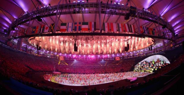 Ceremonia otwarcia igrzysk musiała zostać przesunięta o rok przez pandemię koronawirusa.