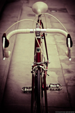 Bianchi Rekord 841 - takim rowerem będę przemierzał Toskanię.