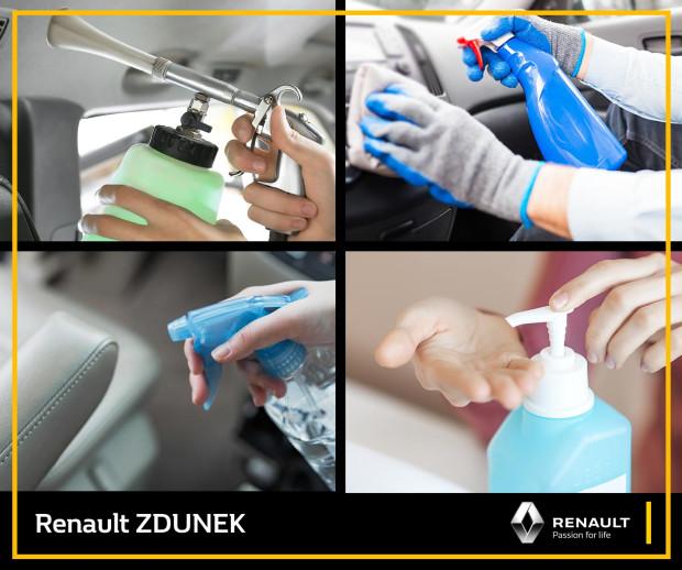 W salonie Renault Zdunek obowiązują nowe zasady bezpieczeństwa.