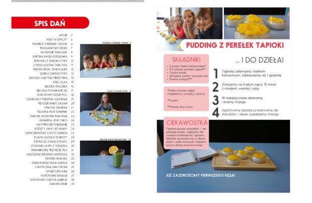33 przepisy przygotowały dzieci z przedszkola MegaMocni.