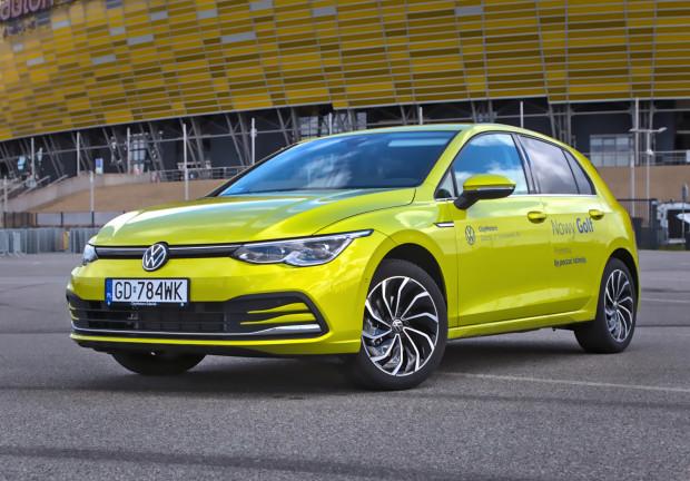 Nowy Volkswagen Golf 8 (2020).
