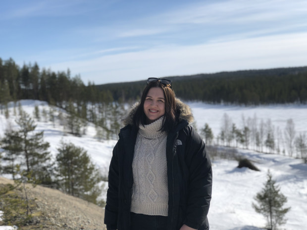 Magdalena Kajka razem z mężem i psem wyprowadziła się do małej miejscowości na północy Szwecji