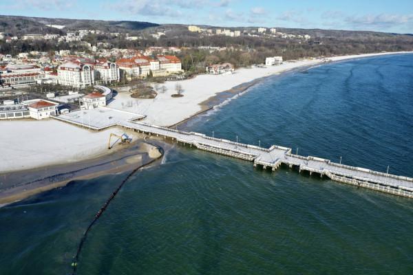 Jedną z inwestycji, z których najprawdopodobniej zrezygnuje Sopot jest rozbudowa molo o dodatkowe pływające pomosty.