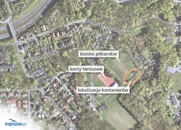 Kontery będą ustawione w obrębie kompleksu sportowego przy ul. Zielonogórskiej.